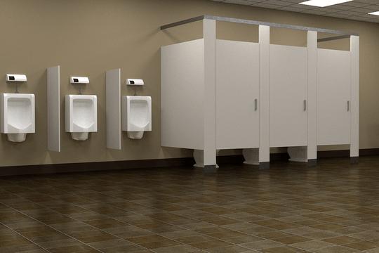 Dezynfekcja i czyszczenie łazienek i urządzeń sanitarnych.